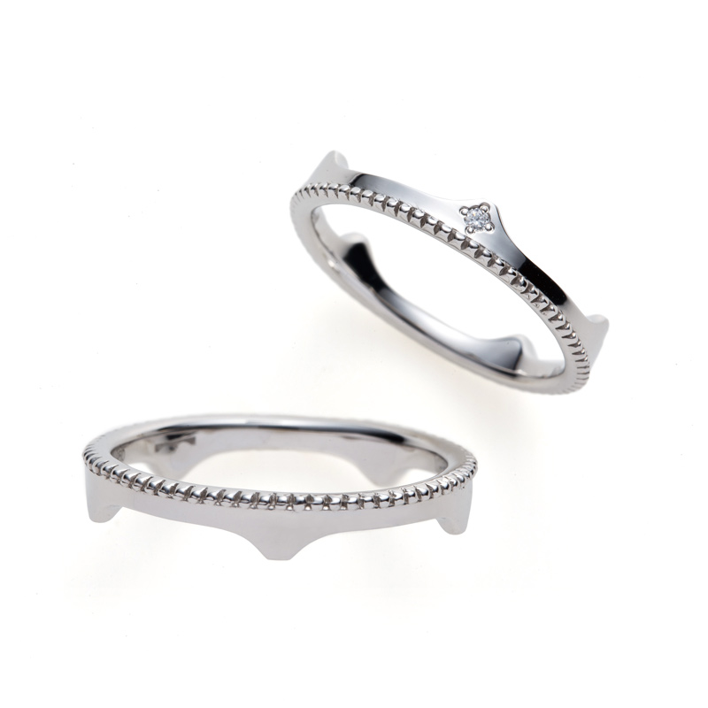 王冠ティアラ萬代橋人と違う結婚指輪銀座ブリッジ高品質ダイヤモンドコスパ大人花嫁プロポーズ婚約指輪鑑定書夫婦円満