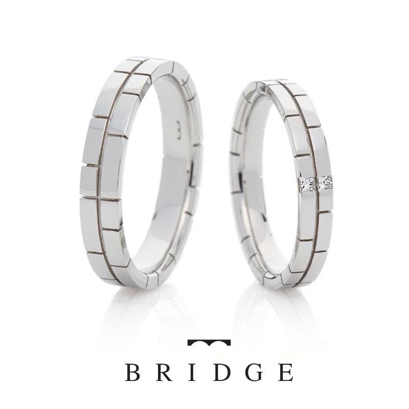 決意BRIDGE銀座の結婚指輪エタニティスタイル