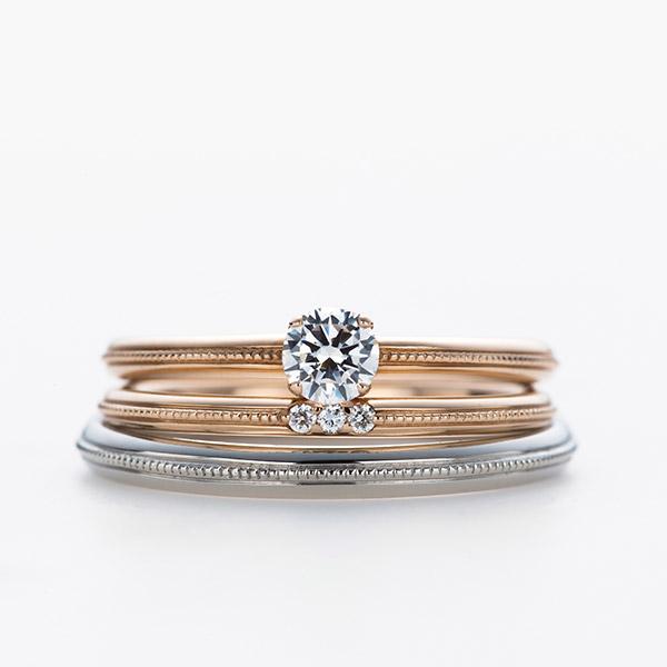 インフィニティラブDropセンターミル婚約指輪銀座