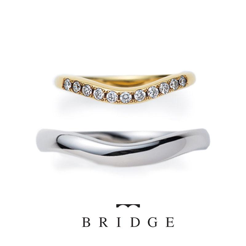 あおぎBRIDGE人気の結婚指輪