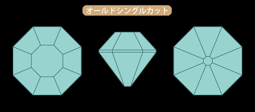 ダイヤモンド・オールドシングルカット