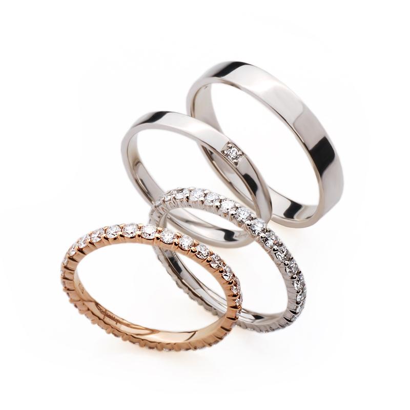 銀座ブリッジではかわいい結婚指輪、人気の憧れエタニティリングを取り扱っております。