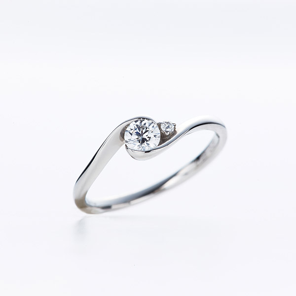 エンゲージリング 婚約指輪 ダイヤモンド プラチナ 銀座