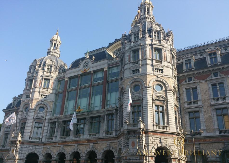 王立美術院アントワープはダイヤモンド研磨の聖地BELGIUMフィリッペンスベルト氏ブリッジ銀座