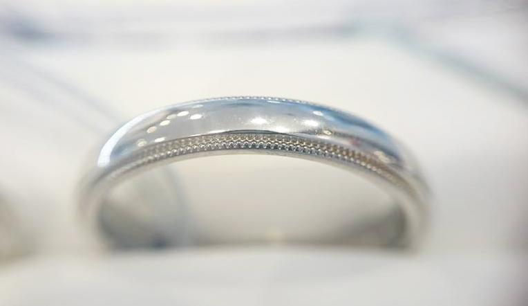 千の彩WG&PTバージョン ブリッジ銀座 アンティーク技法のミルグレイン 鍛造製法