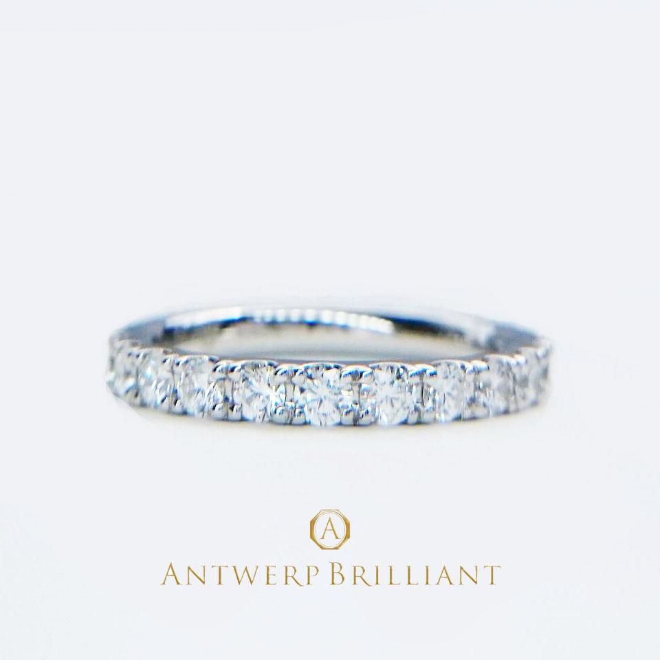 Dlineネビュラ全周ダイヤモンドの婚約指輪