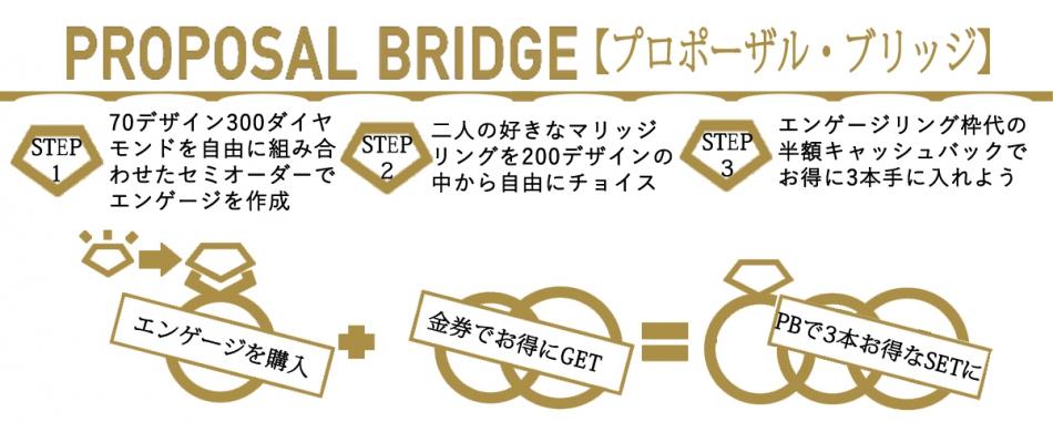 銀座BRIDGEプロポーズ婚約結婚指輪お得なプラン