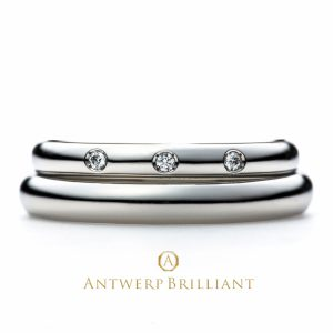One Hearty Rose Wedding Band Ring