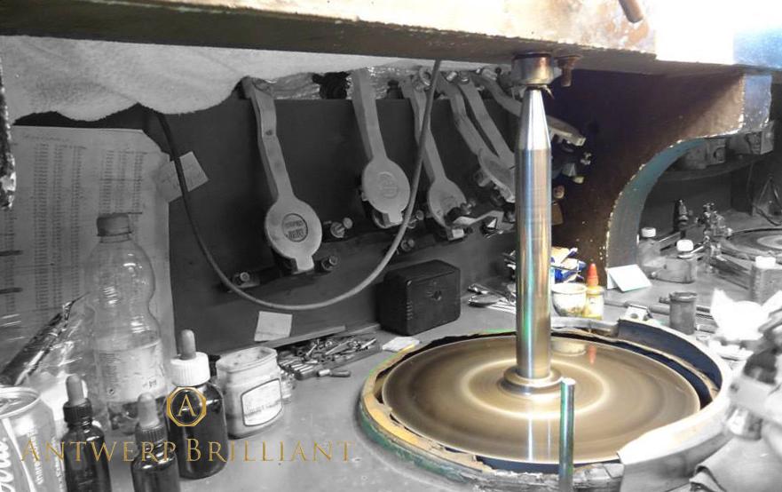 スカイフ ベルケム Lodewyk van Berken アントワープブリリアント ブリッジ銀座 ダイヤモンド研磨