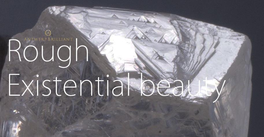 ブリッジ銀座アントワープブリリアントこだわったダイヤモンド原石ソーヤブル存在美ラフありのままでキレイ婚約プロポーズ用