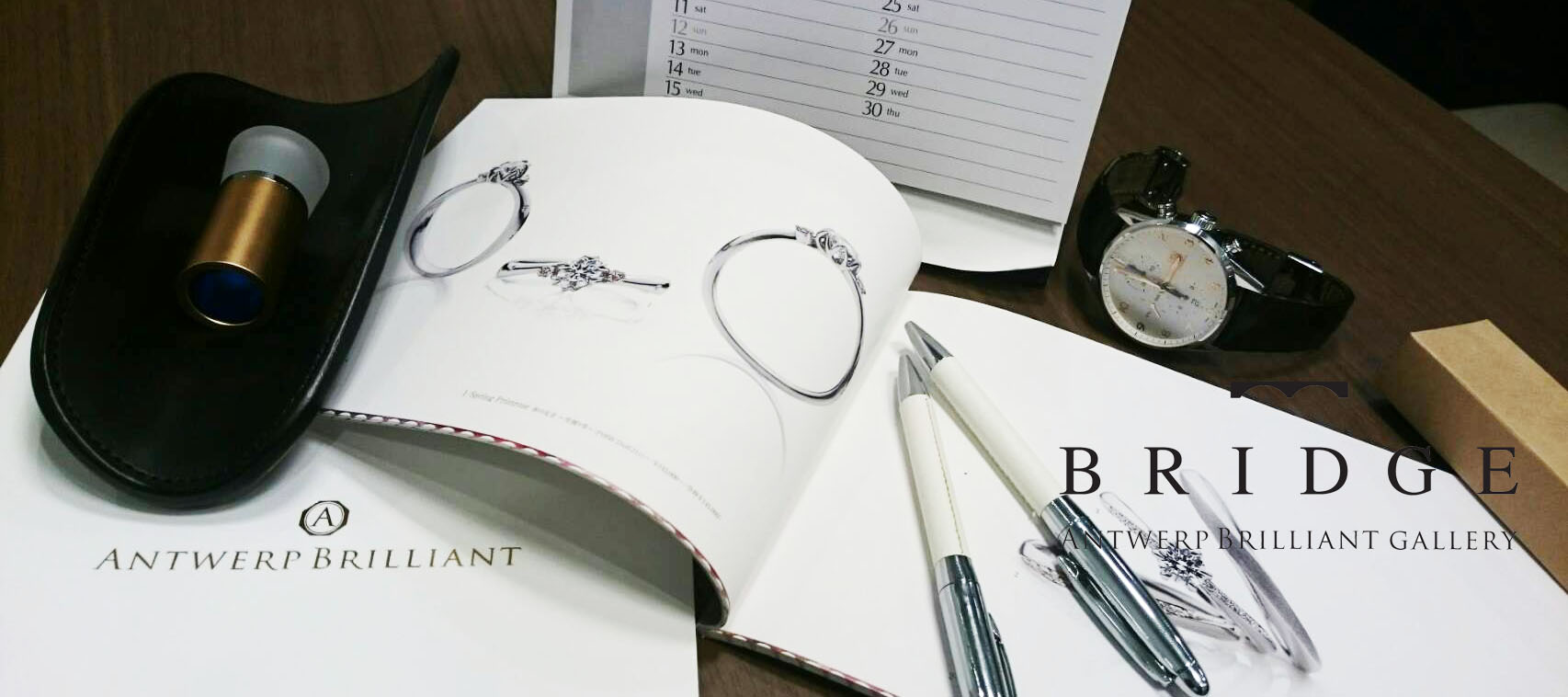 ブリッジ銀座の結婚指輪選びは男性一人でもお二人でご来店でも特典多数の事前の予約がお得です