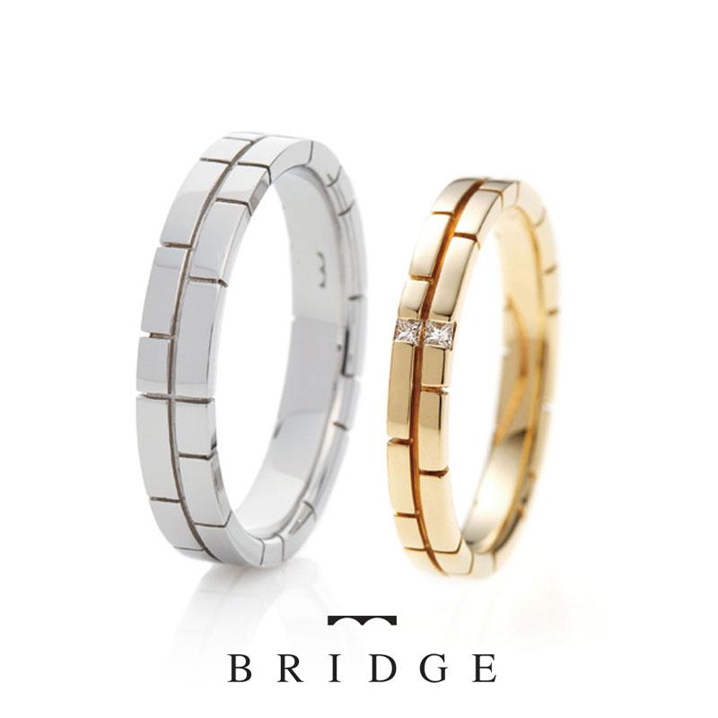 個性的なデザインでかわいい結婚指輪をご紹介します