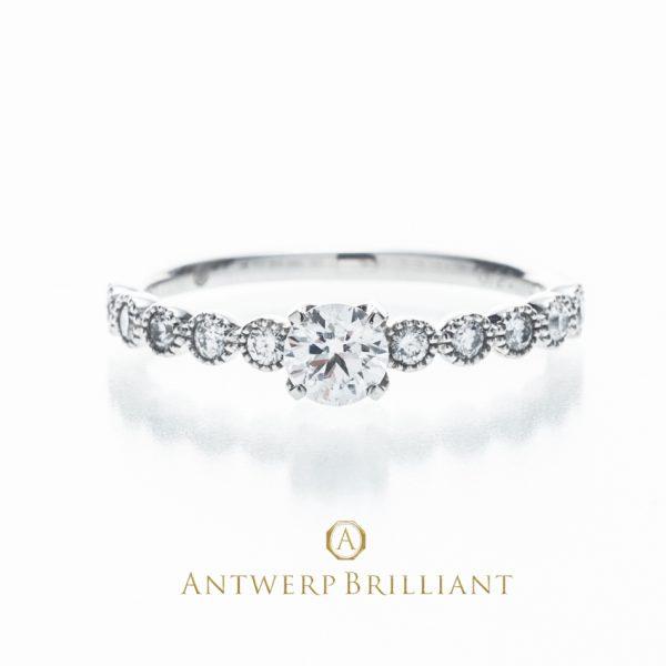 銀座 人気 東京 婚約指輪 かわいい おしゃれ 王道 エンゲージリング
