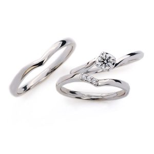 稲穂をモチーフにした結婚指輪