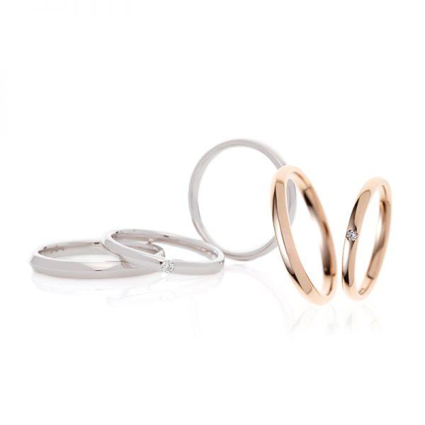 細め華奢マリッジリング結婚指輪ストレート銀座ブリッジでも人気のシンプル結婚指輪カラバリ豊富で高コスパ