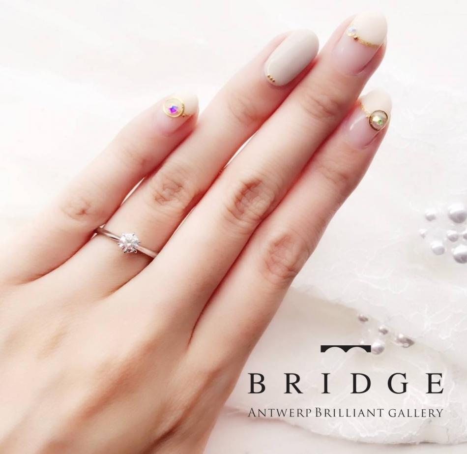 東京 銀座 サプライズ プロポーズ 彼女 好み シンプル ソリテール 指輪