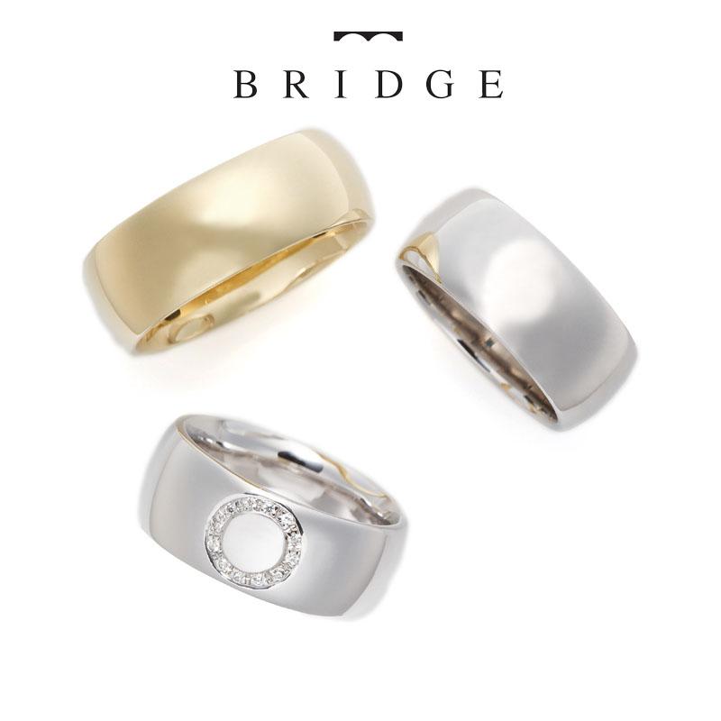 幅広で個性的、着用感も抜群な結婚指輪をご紹介します。