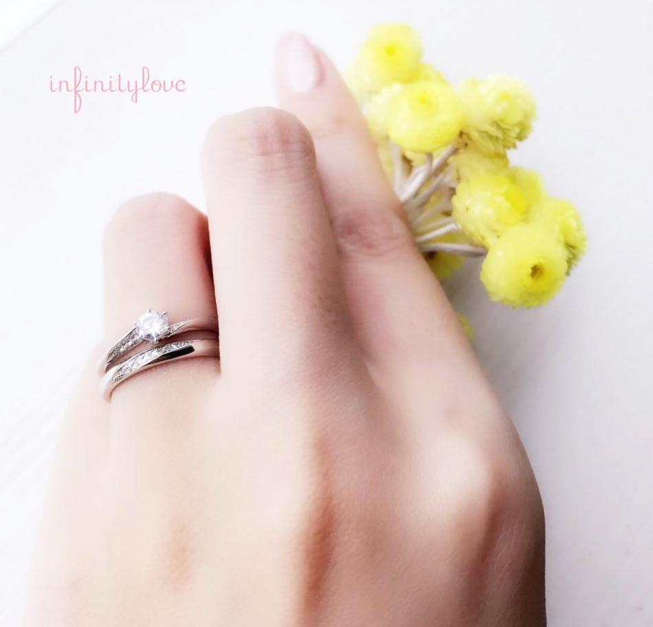 美しく輝くダイヤモンドを惹きたててくれる魅力的なデザインの婚約指輪、結婚指輪選びならBRIDGE銀座♪