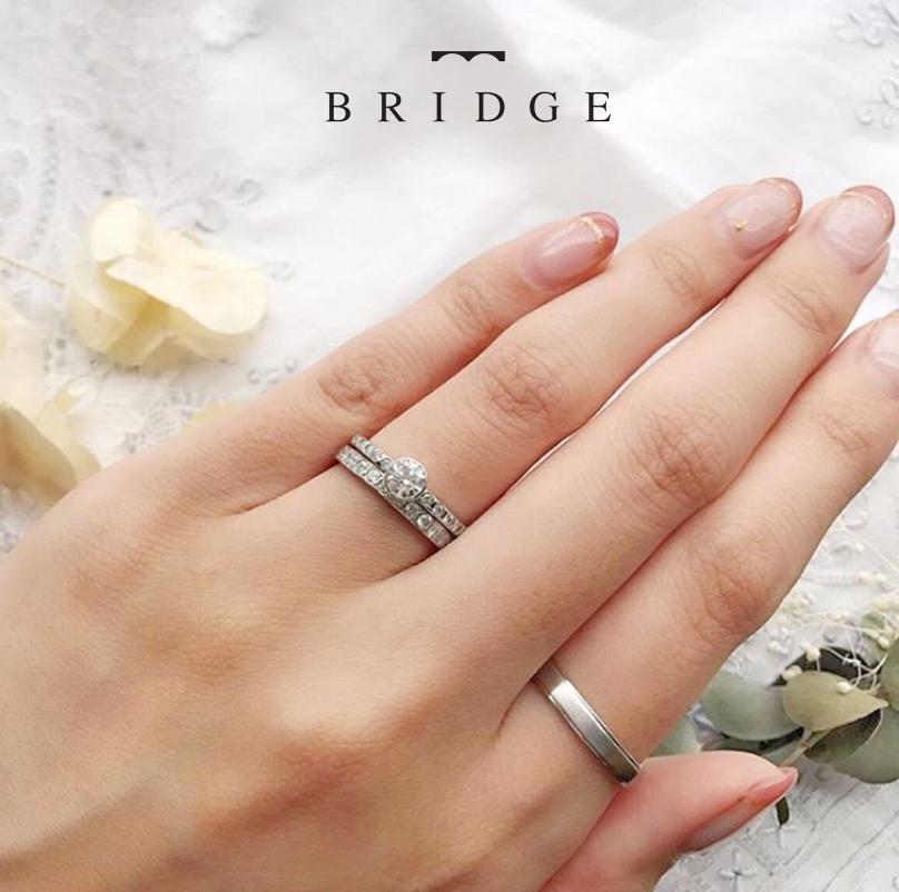 東京 銀座 サプライズ プロポーズ 太陽モチーフ ダイヤモンドライン シンプル 大人可愛い 指輪