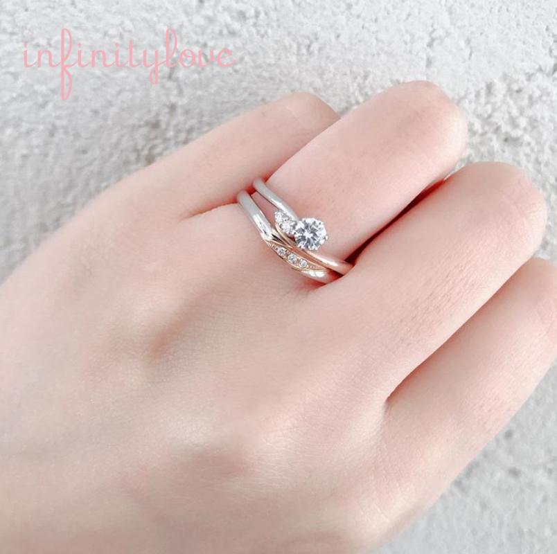 インフィニティラブは重ねつけが美しい結婚指輪のブランドでおしゃれ女子に人気です