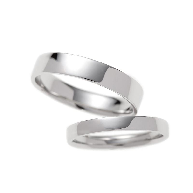 平打ちリングはシンプルで結婚指輪に人気のデザイン