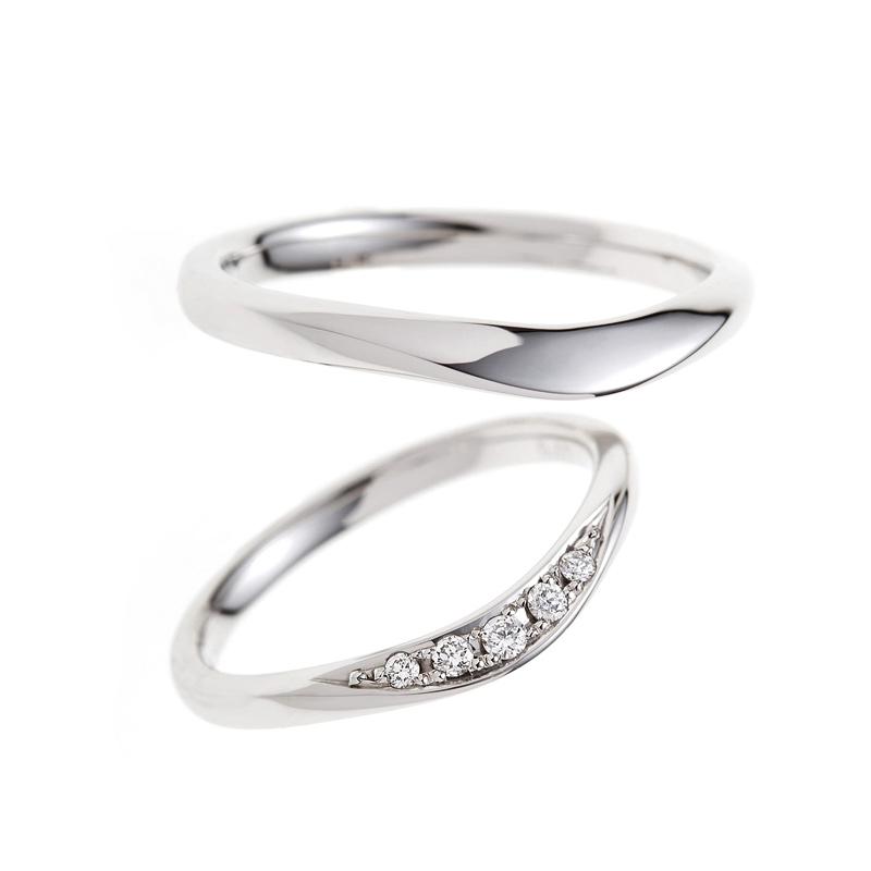 結婚 指輪 セットリング 重ね付け プラチナ 彼女 好み ダイヤモンド キラキラ 大人かわいい