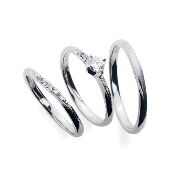 結婚指輪の表面仕上げ変更は何時も出来ます。