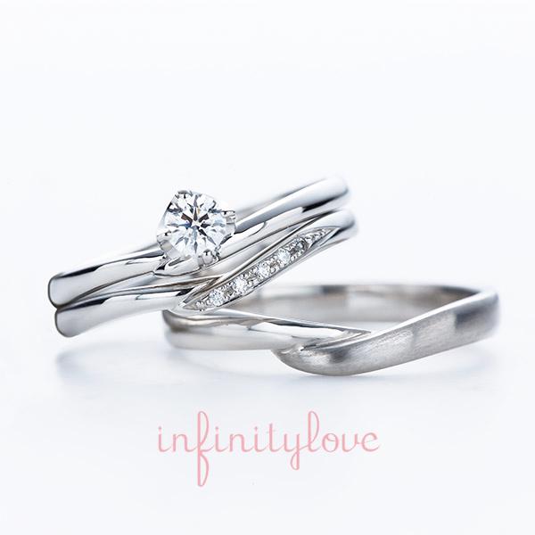 切り返しの華奢なVラインが指長効果抜群でダイヤモンドもさりげない使い方で花嫁人気ヴィーナスは首都圏では銀座のブリッジの限定商品