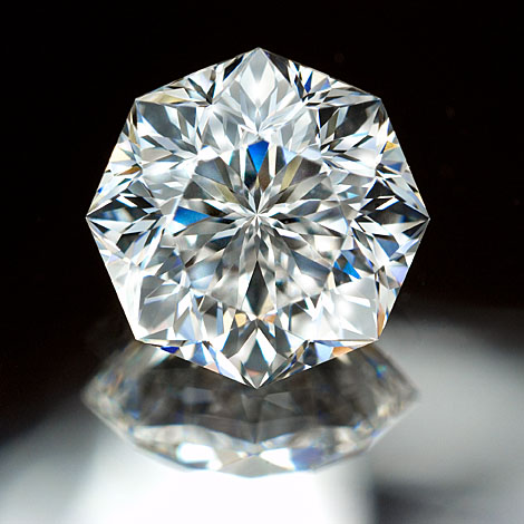 AntwrepBrilliantカットダイヤモンドBRIDGE銀座 アントワープ フィリッペンス・ベルト研磨 人と違う変形 変わったダイヤ