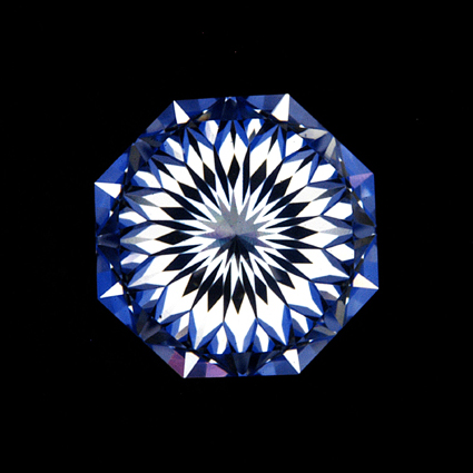H&Cアントワープブリリアント裏から見た 無数のハート 変わったダイヤモンド 人と被らない 特別な輝き
