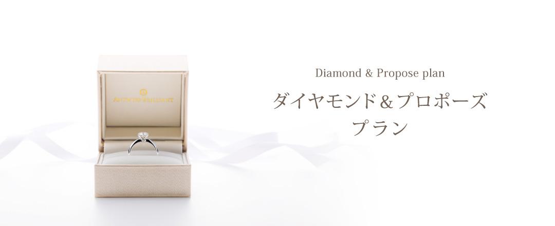 銀座のプロポーズリング&ダイヤモンド