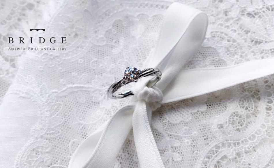 希少なプラチナを使ったダイヤモンドの婚約指輪