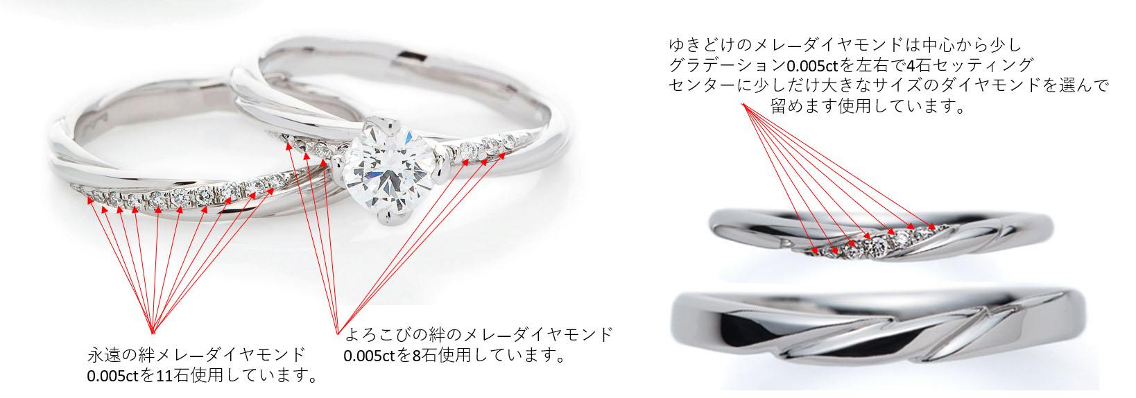 メレダイヤモンドも厳選エクセレントカットメレを採用BRIDGE銀座アントワープブリリアントギャラリー