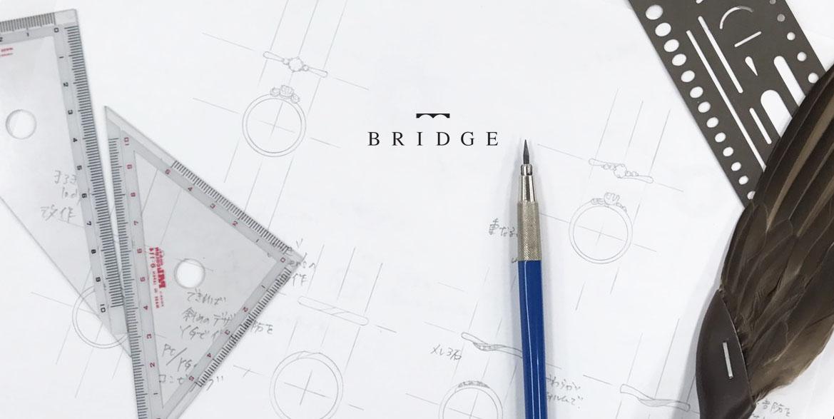 ブリッジ銀座アントワープブリリアントのリングはすべて受注生産で量産に向かない曲線美が美しい結婚指輪です。丁寧にデザインを掘り下げる確かな技術で作っています。