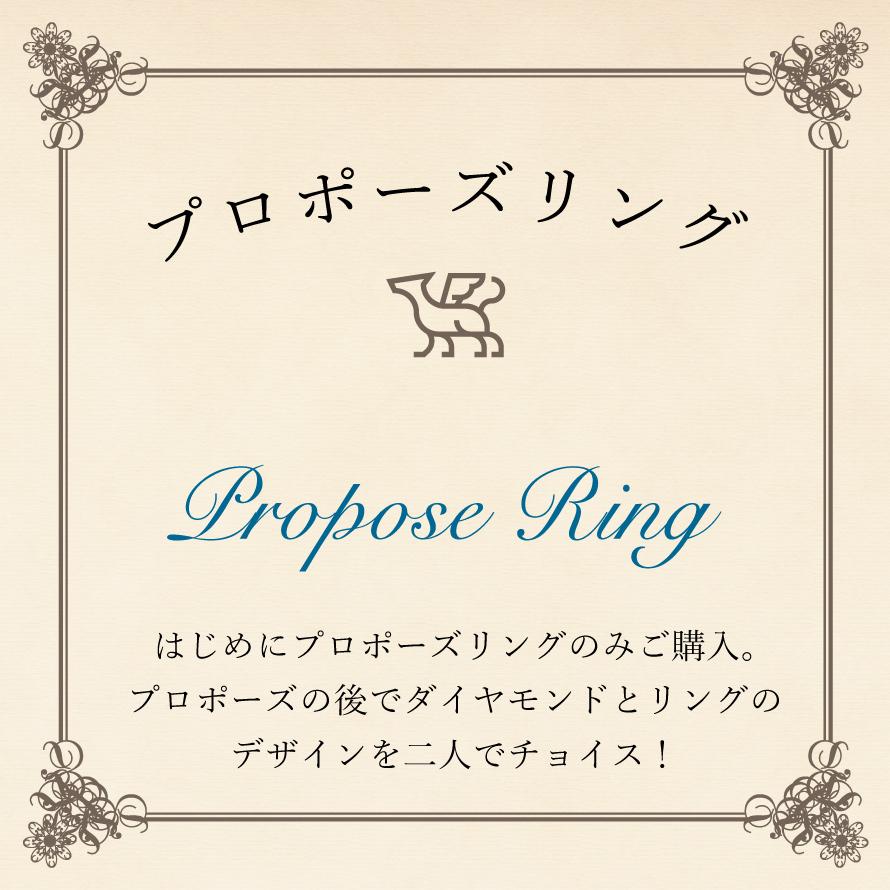 プロポーズ・リングプラン 銀座の婚約指輪