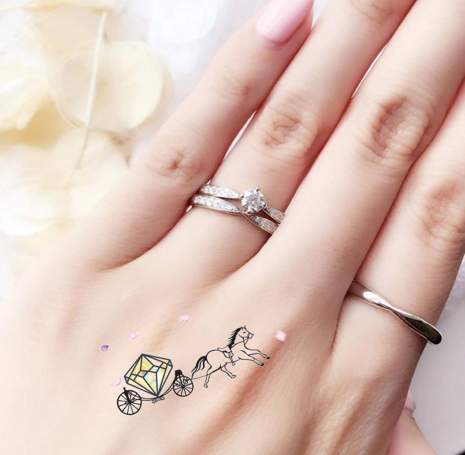 東京 銀座 サプライズ プロポーズ 彼女 好み ダイヤモンドライン シンプル 指輪