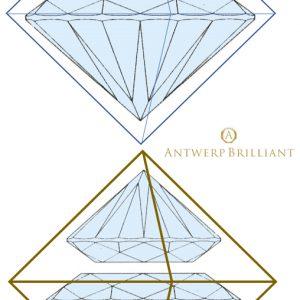 光学理論を用いてダイヤモンド内部の光を計算したツァイスとモース