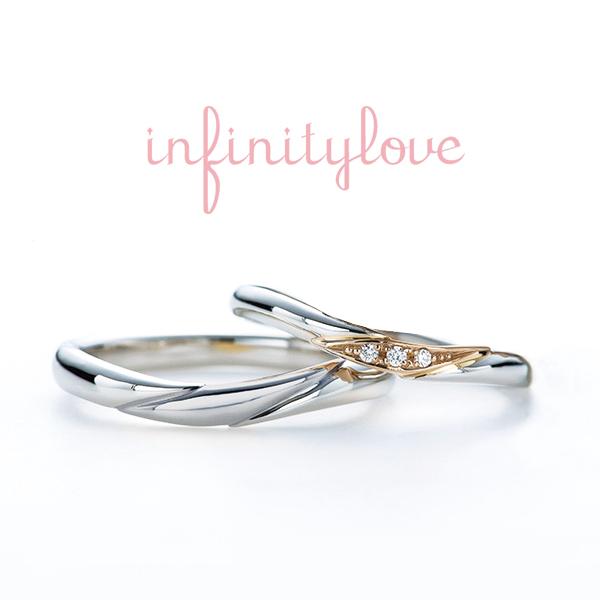 ミラクルな結婚指輪マリッジリングBRIDGE銀座でも珍しい金とプラチナのコンビは象嵌技術で作られるカジュアルでおしゃれ感度高めの花嫁に人気