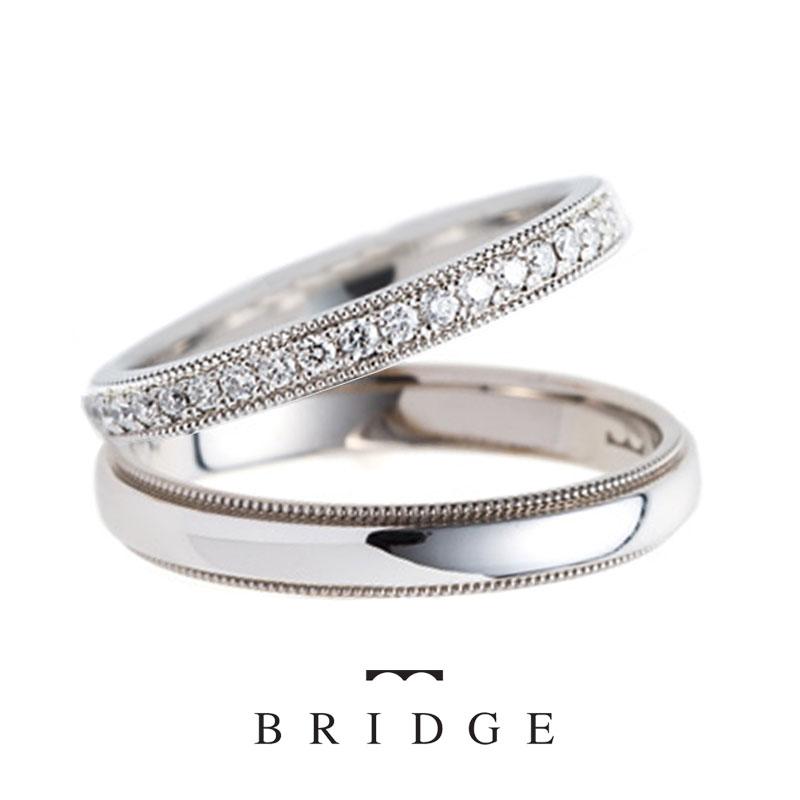 結婚指輪千の彩BRIDGEAntwerpBrilliantGALLERY銀座
