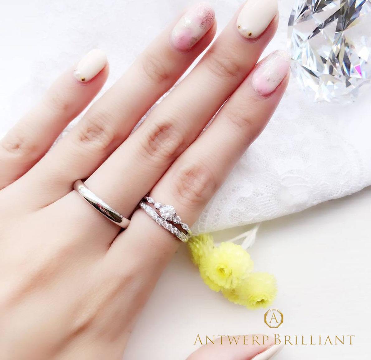 銀座で見つけるダイヤモンドラインで可愛いサプライズプロポーズにぴったりの婚約指輪