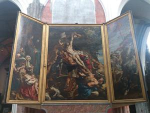 キリスト降架ルーベンスAntwerpノートルダム大聖堂