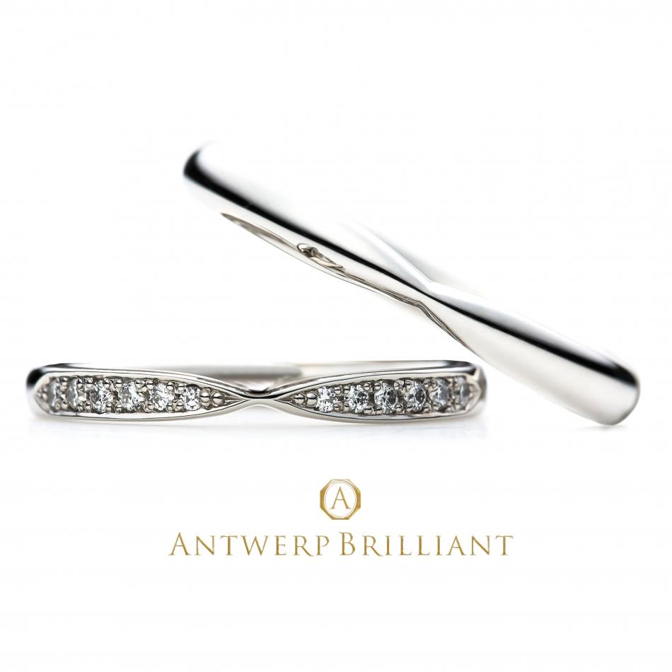 Ⅴライン ダイヤモンドライン 指先 美しい 彼女 好み 結婚 指輪 Antwerpbrilliant 人気