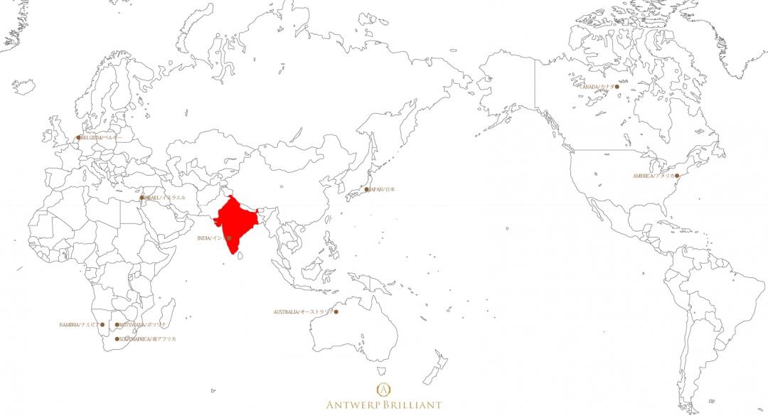 インドは人類史にダイヤモンドが登場した地