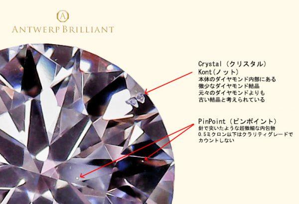 ダイヤモンドの内包物は地球からの贈り物、自分だけの特別なダイヤモンドを見つけよう