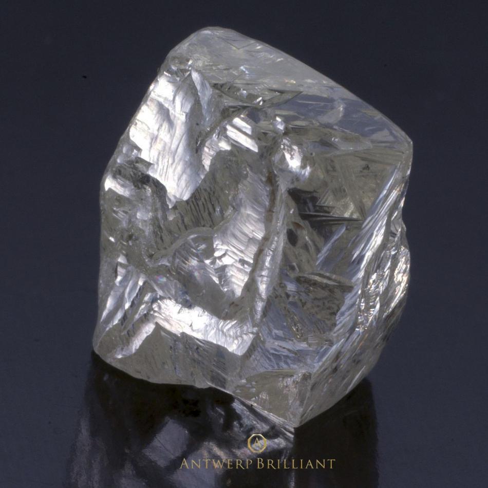 ソーヤブル原石ダイヤモンドのラフBRIDGEブリッジ銀座アントワープブリリアント婚約リングプロポーズの宝石ありのままグレインライン