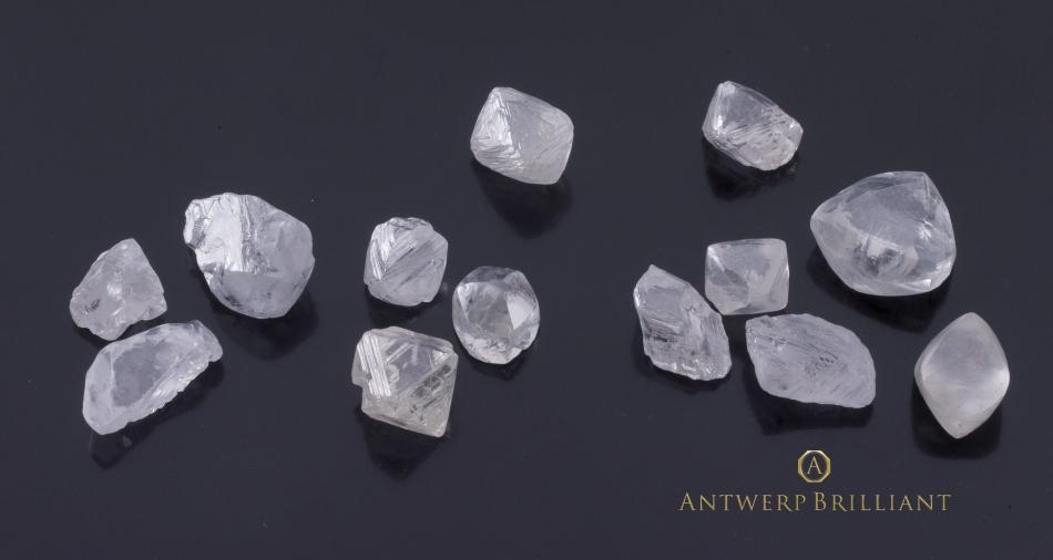 ダイヤモンドの原石の品質は研磨済みダイヤモンドに大きな影響を与える