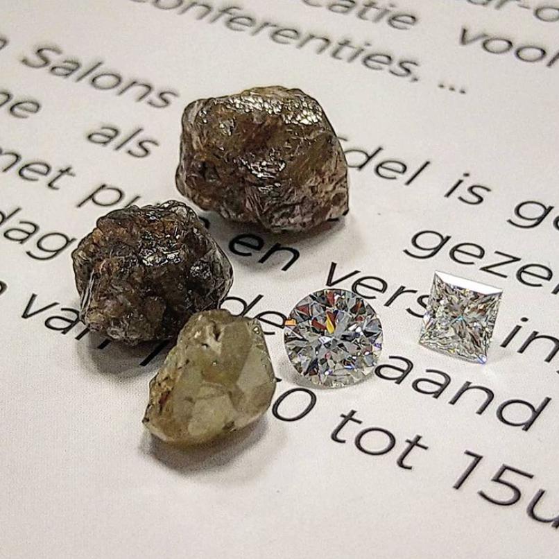 ランオブマインはダイヤモンド原石で産地特定できる