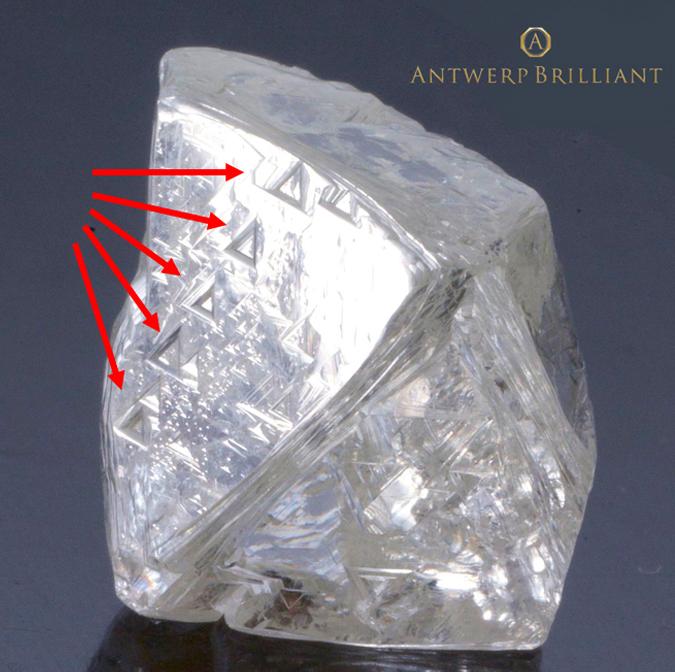 原石にこだわったダイヤモンド銀座ブリッジ