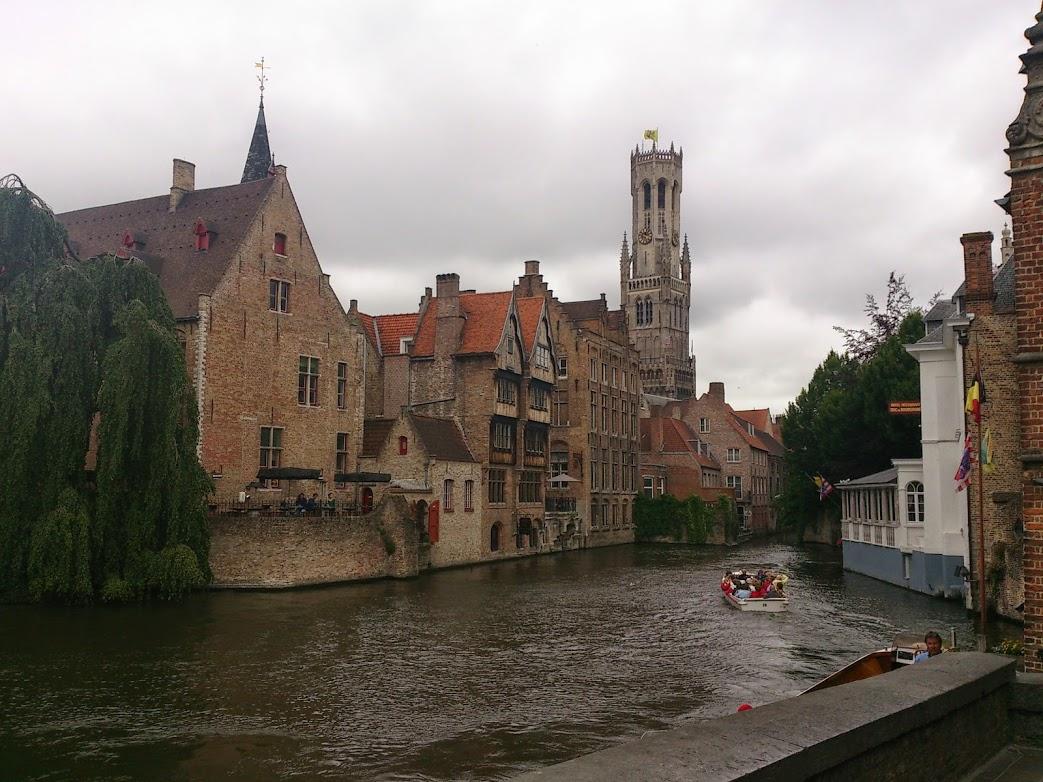水の都ブルージュはベルギーの港町でダイヤモンドギルドが有った場所