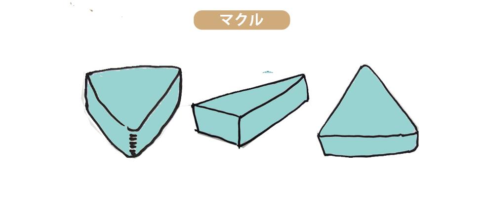 マクル原石は双晶